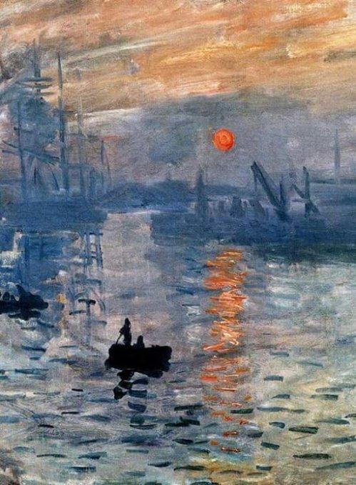 'Sunrise' detail ~ Claude Monet