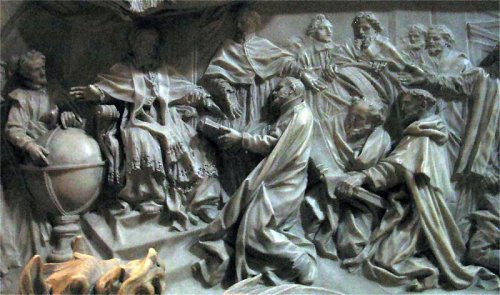 Inscription on the grave of Gregory XIII, St. Peter's Basilica, gregorian calendar