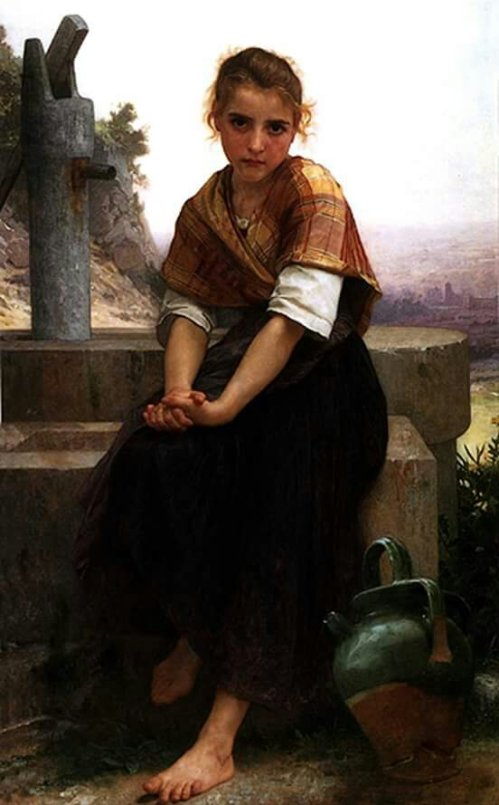 Bouguereau, Broken Pitcher