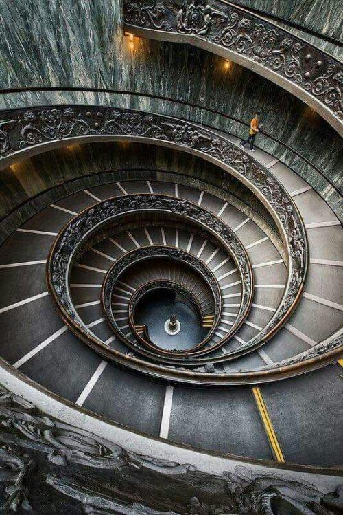 Scala elicoidale dei Musei Vaticani