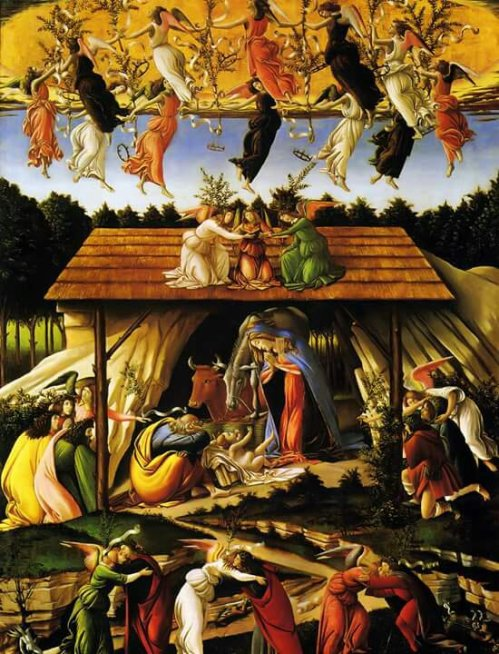 Mystical Nativity, Sandro Botticelli, c.1500