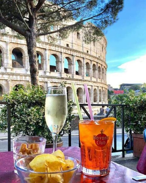Happy hour in Rome !