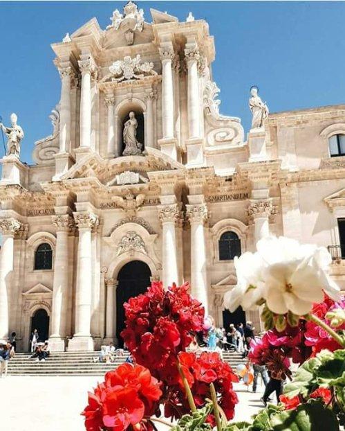 Ortigia, Duomo, Sicilia