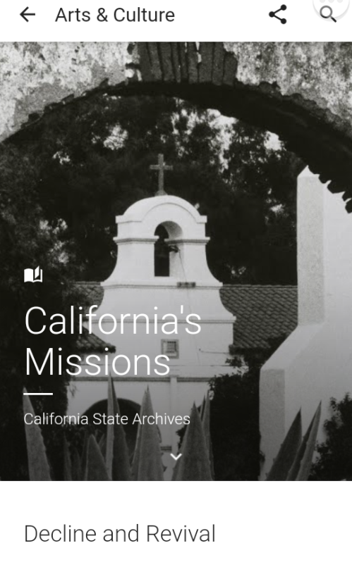 California's MissionsCalifornia State Archives