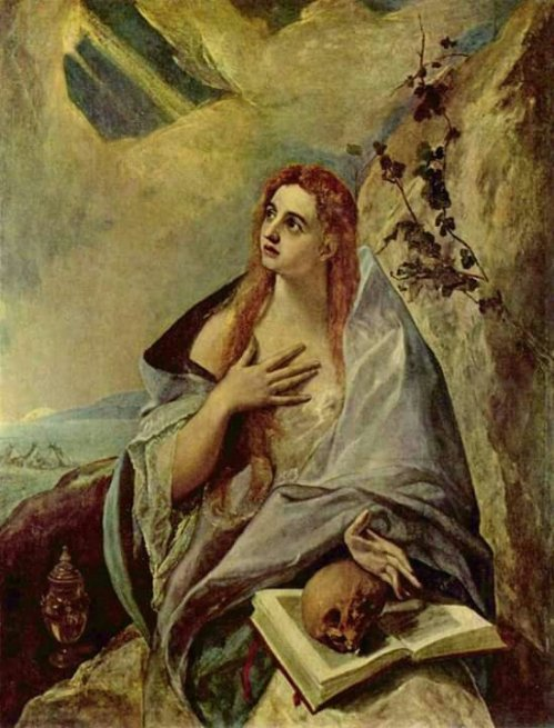 El Greco(1541-1614)Penitent Mary Magdalene1577Oil on canvas121x157cm