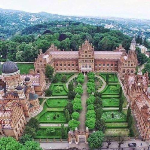 Universitatea din Cernăuți în topul celor mai frumoase universități din lume.