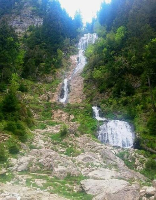 Cascada Cailor, Munții Rodnei, MaramureșFoto: Mircea Nechita/La pas prin România