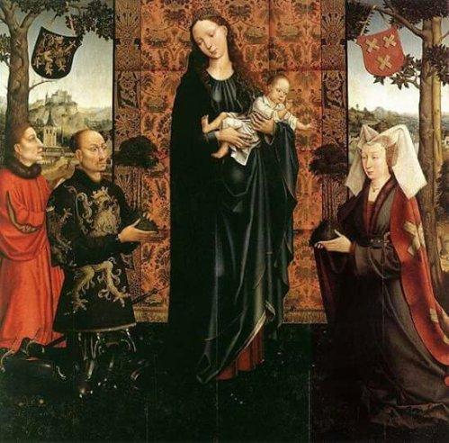 Goswin(Goossen) van der Weyden (1455–1543) - The Gift of Kalmthout 1511, Gemäldegalerie, Berlin