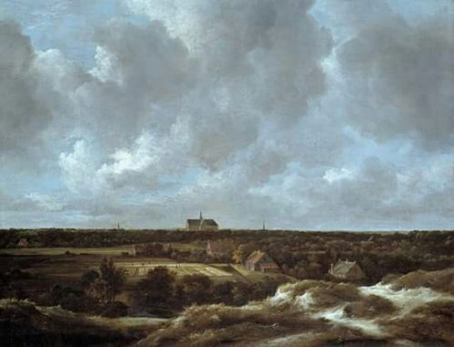 Jacob van Ruisdael, 1628/29-1682A View of Haarlem and Bleaching Fields, ca. 1665-70