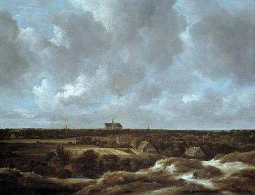 Jacob van Ruisdael, 1628/29-1682A View of Haarlem and Bleaching Fields, ca. 1665-70