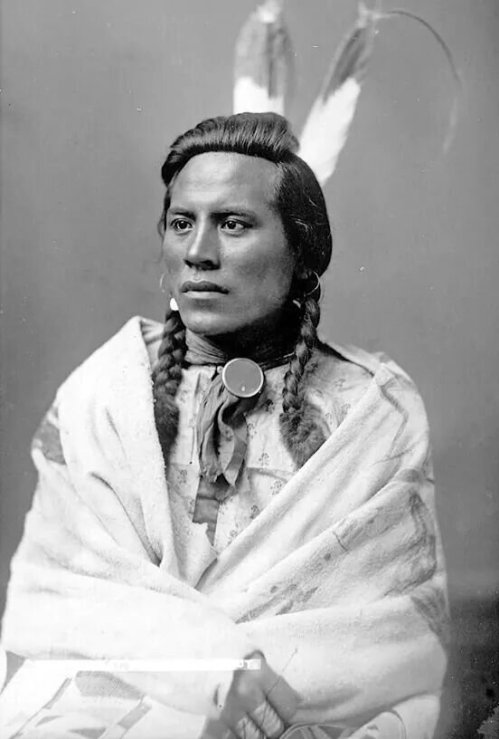 Curley. Crow. 1883. Photo by Frank Jay Haynes. Source - Montana Historical Society.