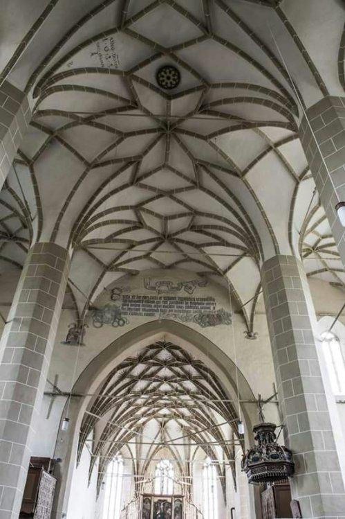 Biserica Evanghelica Biertan...(Modele arhitecturale)Birthalm...Berethalom...