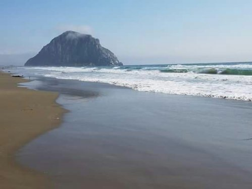 Morro Rock in Morro Bay...California Coast