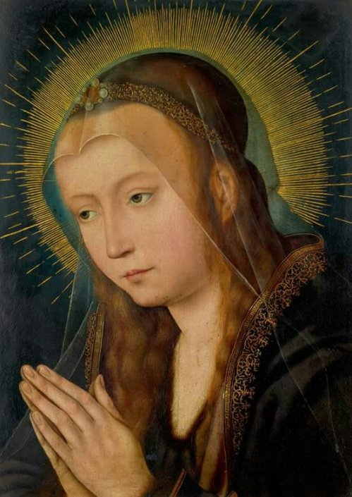 PAINTING OF THE DAYVirgin in Prayer, Quinten Metsys, c.1510