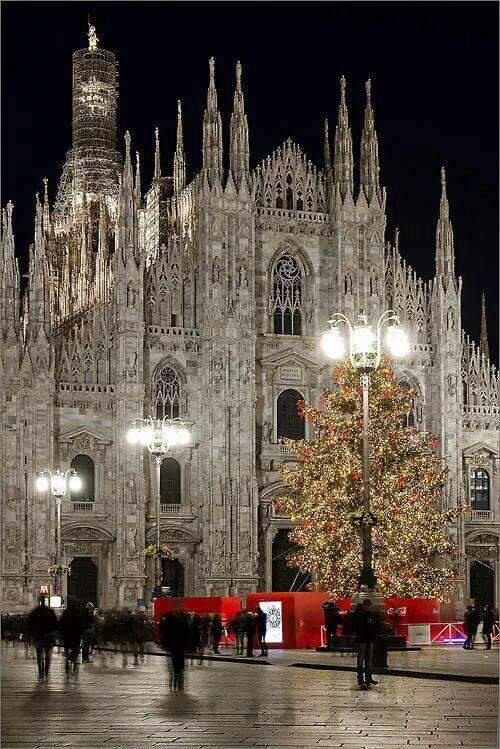 Milan Cathedral at Christmas !