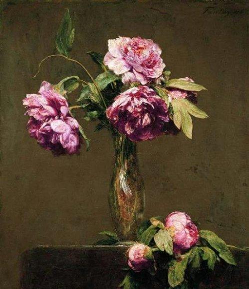 Henri Fantin-Latour, Pivoines, 1876