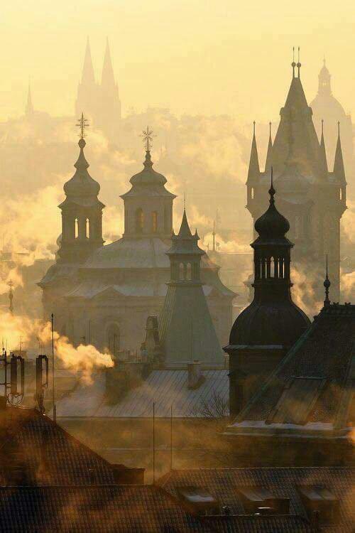 Prague!