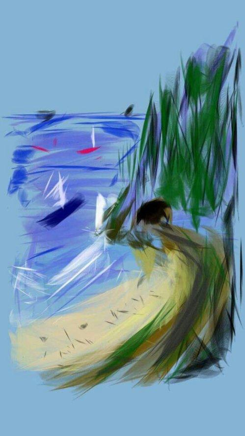 PCH Beach Sketch