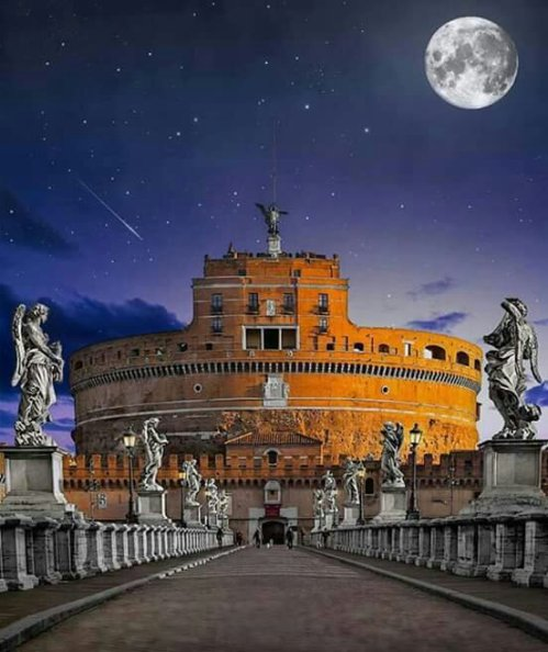 Castel Sant'Angelo, Rome !