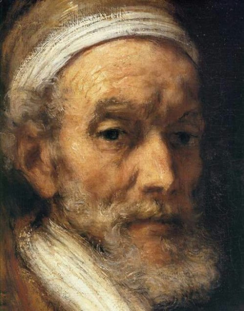 Rembrandt: Portrait of Jacob Trip, Detail