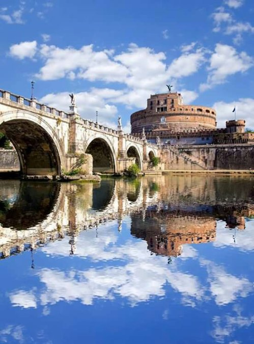 San Angelo and Tiber River, Rome !