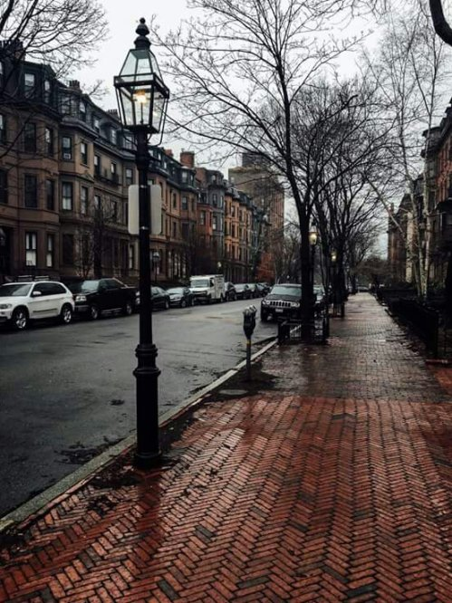 Rainy day in Boston
