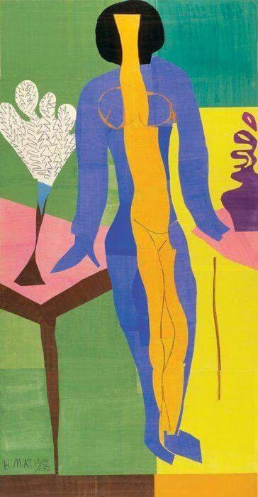 Zulma' (1950) by Henri Matisse