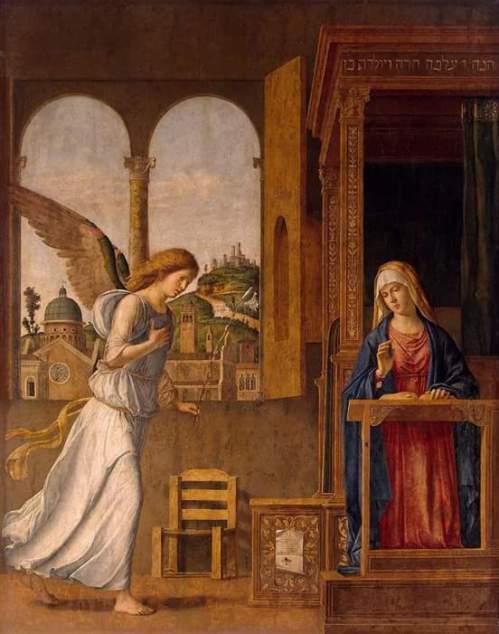 Cima da Conegliano Giovanni Battista - Annunciation