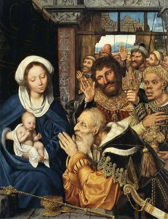 """The Adoration of the Magi """" 1526 Artist: Quentin Metsys"""