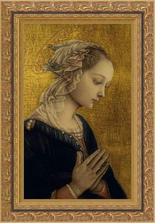 Madonna -- Fra Filippo Lippi (1406 - 1469)
