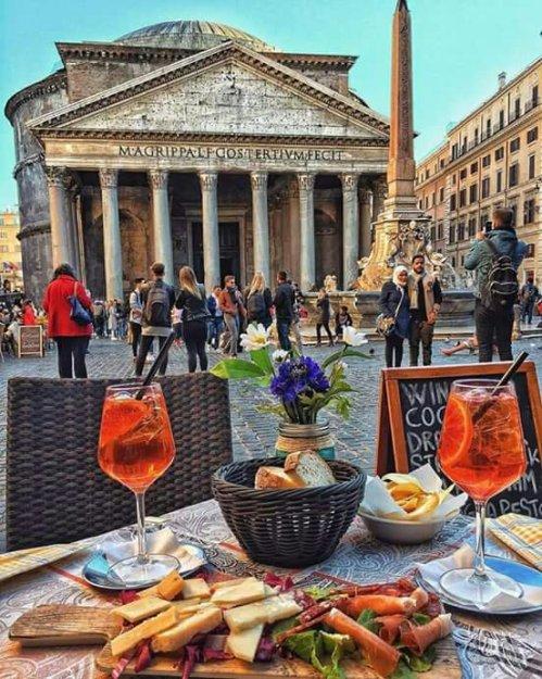 Aperitivo in Rome !
