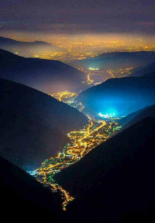 Valley of the lights Italy!