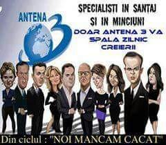 Cine e Antena 3? Specialiști în șantaj și în minciuni!