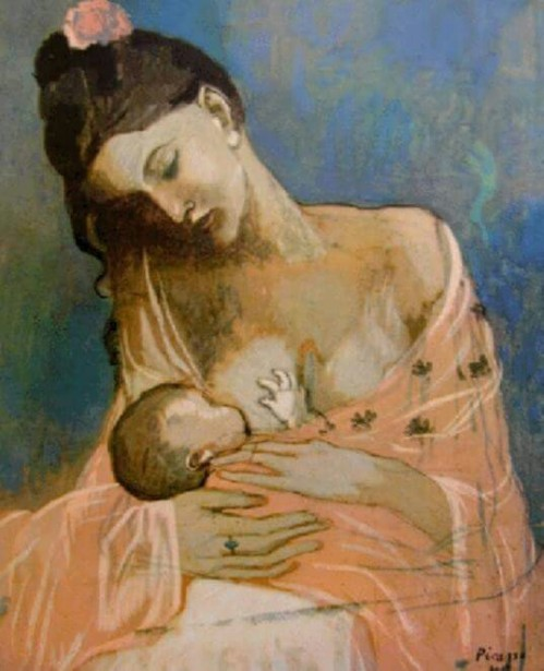 Maternity, by Picasso