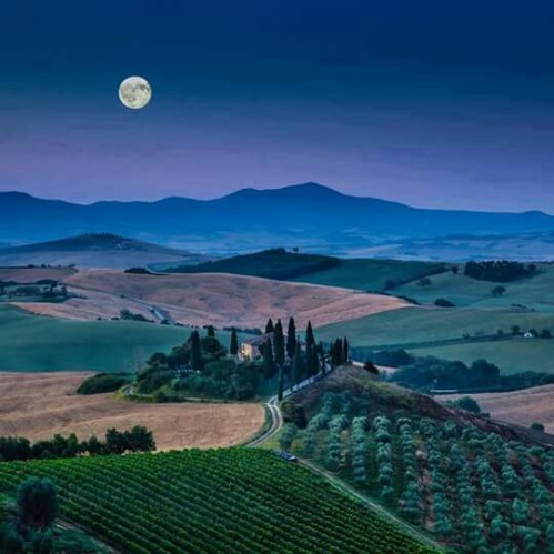 Val D'Orcia, Tuscany !