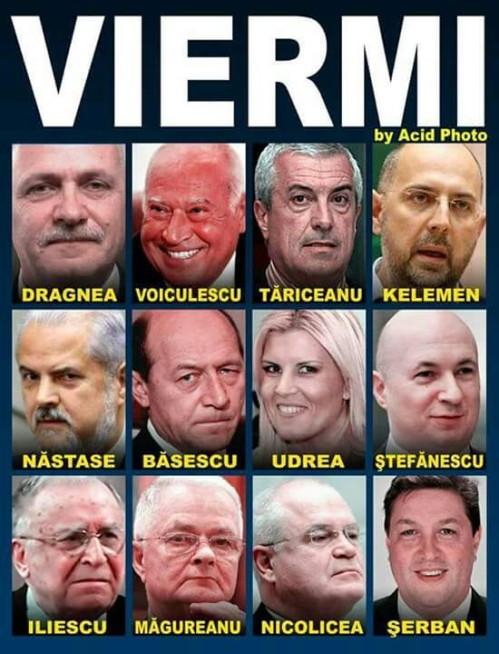 ROMANIA AZI:  Politicienii de frunte ai corupției!