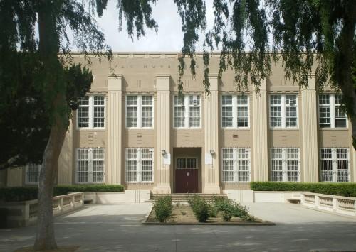 Van Nuys High School — in the San Fernando Valley.