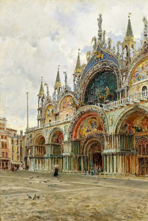 Venice - Giuseppe Marastoni | 19th century via: http://bit.ly/2neTcjR