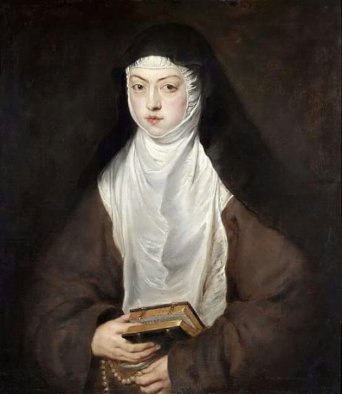 Peter Paul Rubens: Ana Dorotea, Daughter of Rudolph II, a Nun at the Convent of the Descalzas Reales, Madrid
