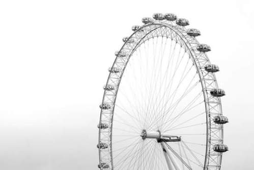 Some numbers for you - the London Eye measures 135m in height