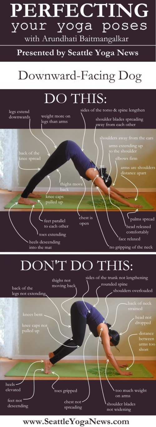 Perfecting your yoga poses