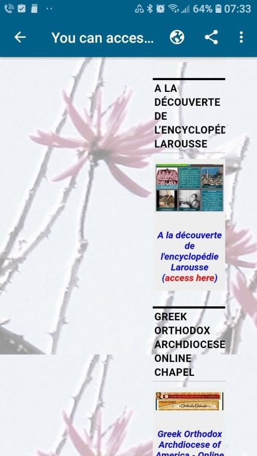 À la découverte de l'encyclopedie Larousse