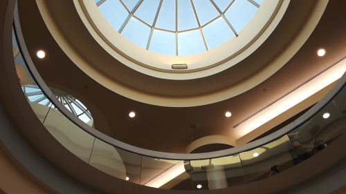 Architecture: cupola and skylight