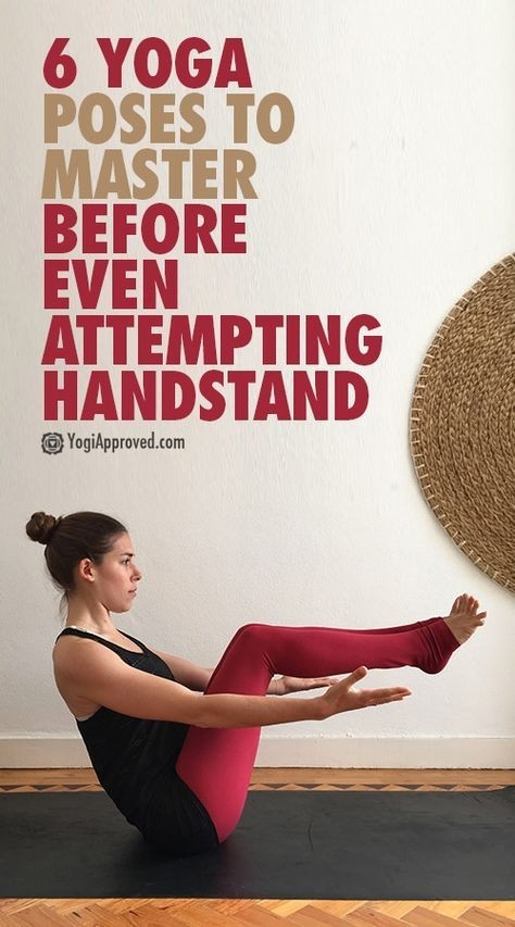 6 Poses to Master Before Even Attempting