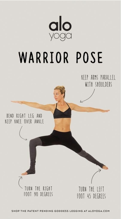Warrior II Pose: easier said than done, but not imposible; trust me!
