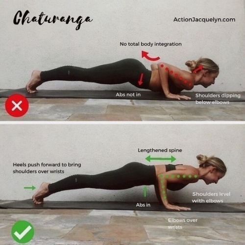 HOW TO...CHATURANGA