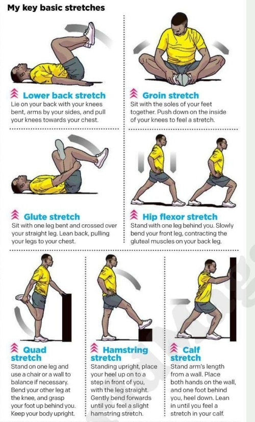 Key basic stretches