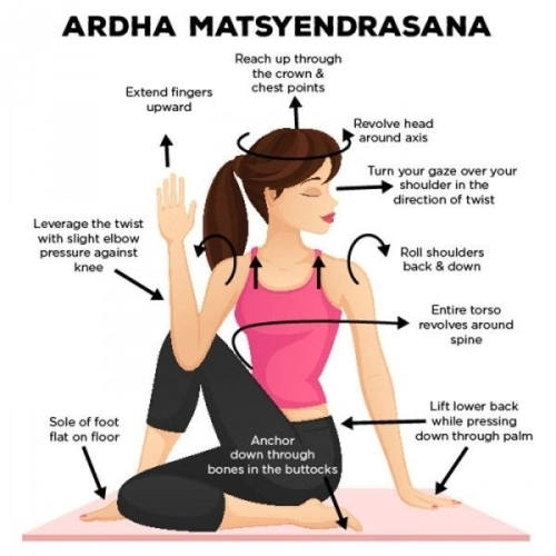 How to do Ardha Matsyendrasana Pose