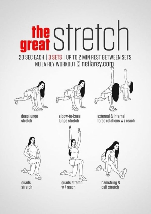 The great stretch