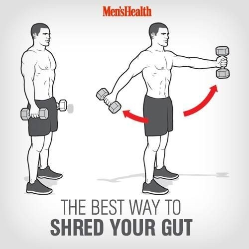 Men's health: the best way to shred your gut